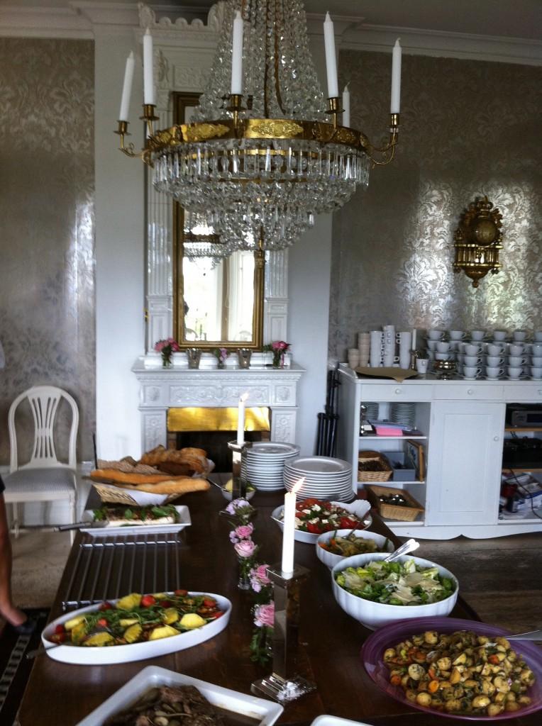 buffet scandinave