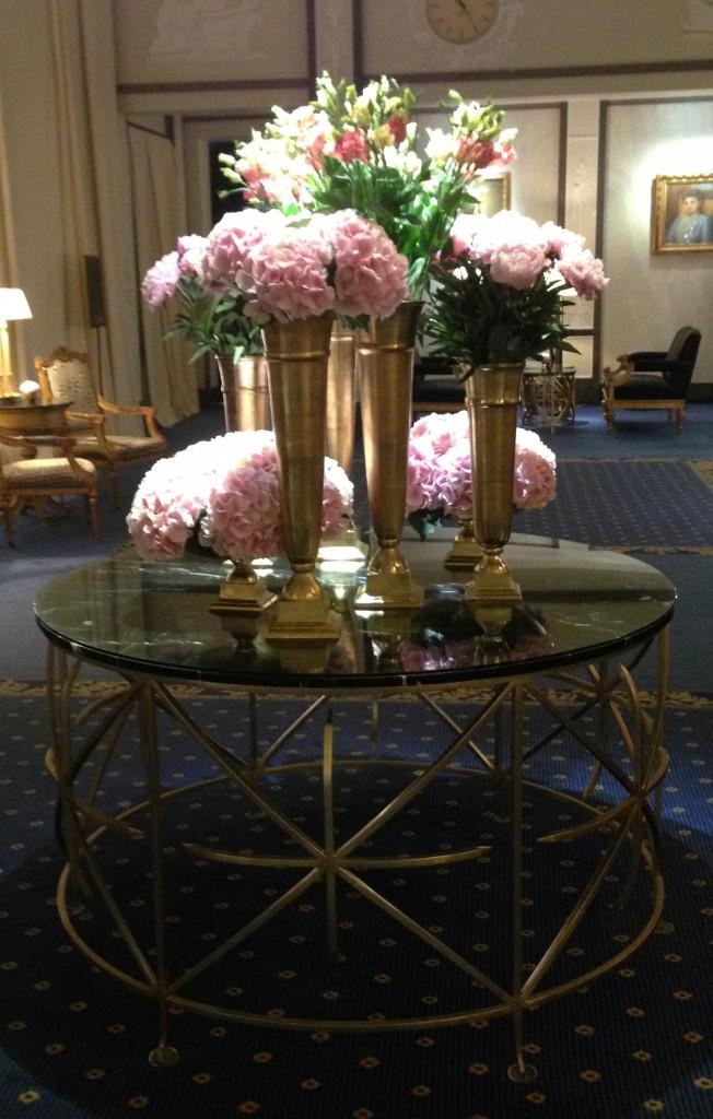 les  vases sublimes du Grand Hotel à Stockholm