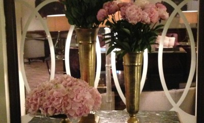 les fleurs du Grand Hotel