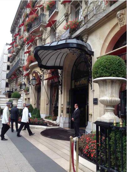 L'hotel Plazza Athénée