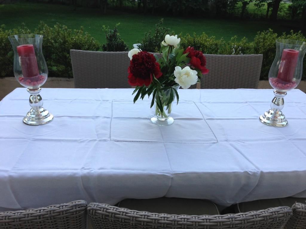 table d'invités
