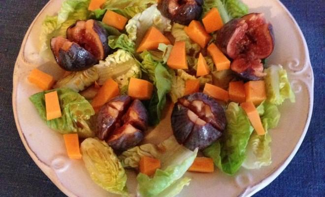 salade de figues
