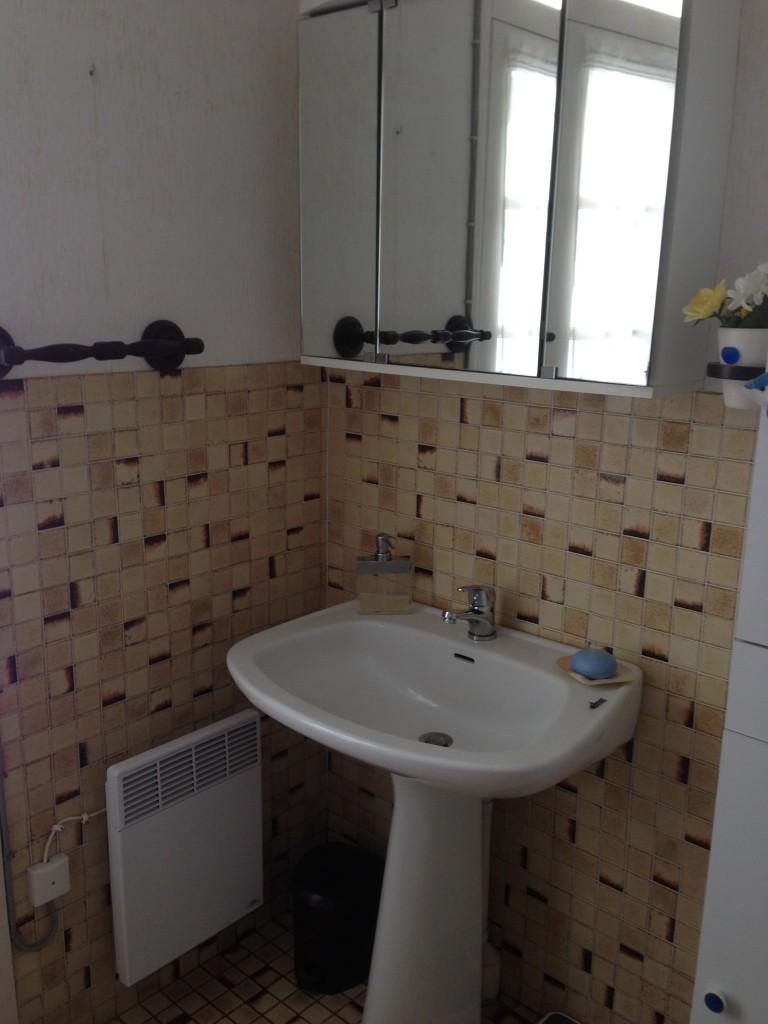 salle de bains avant /après