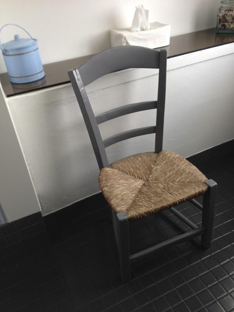 petite chaise relookée