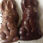 lapins en chocolat fait maison