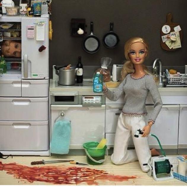 Barbie fait le ménage
