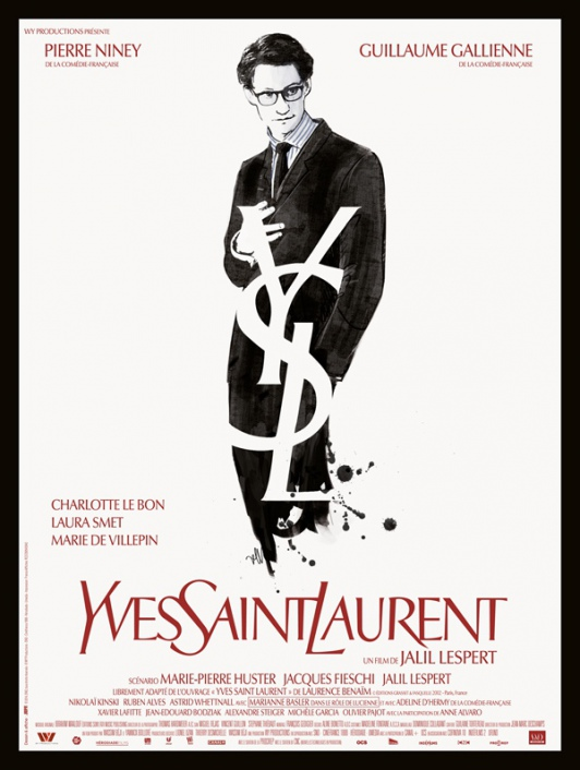 Yves Saint Laurent l'affiche du film