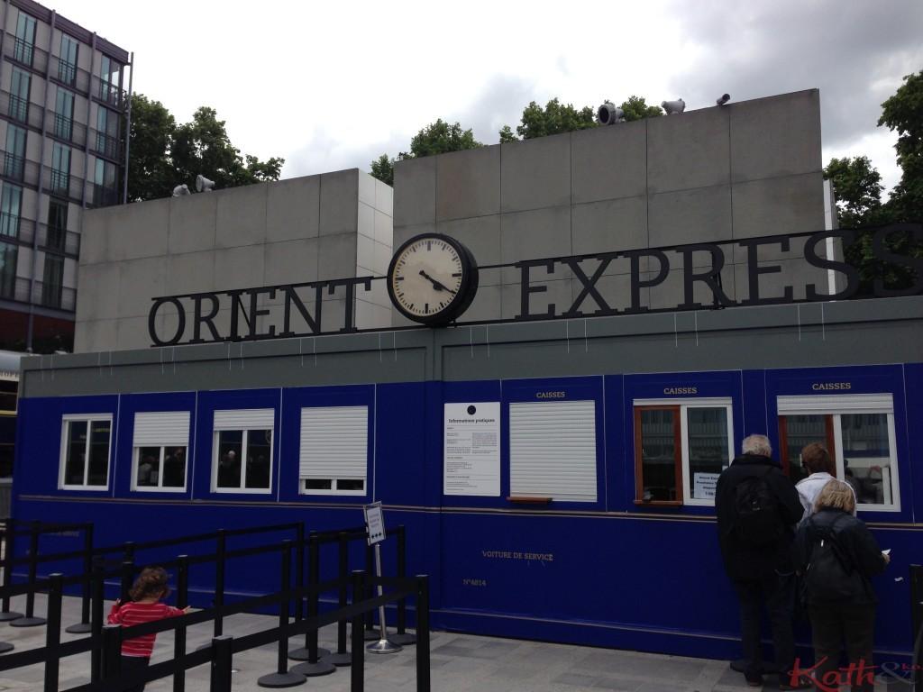 """""""mini gare """"Orient Express"""