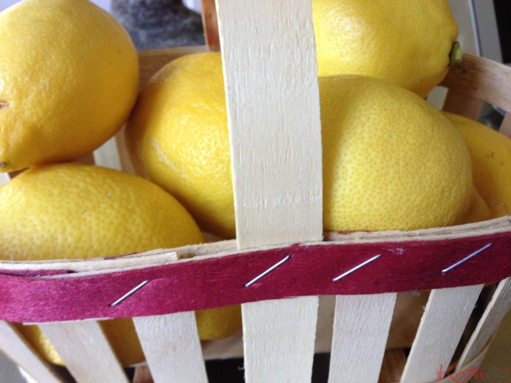 panier de citrons