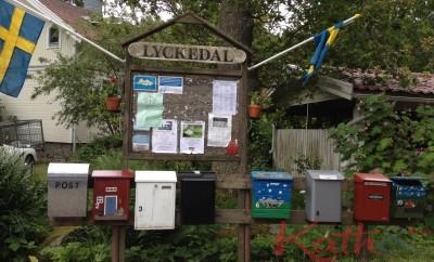 boite aux lettres suédoises