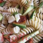 Salade de pates au vert