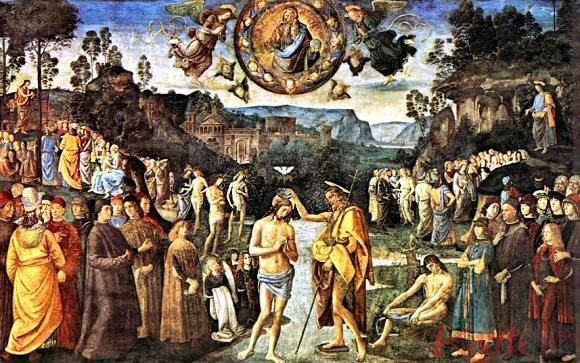 Le baptême du Christ (ca 1492)
