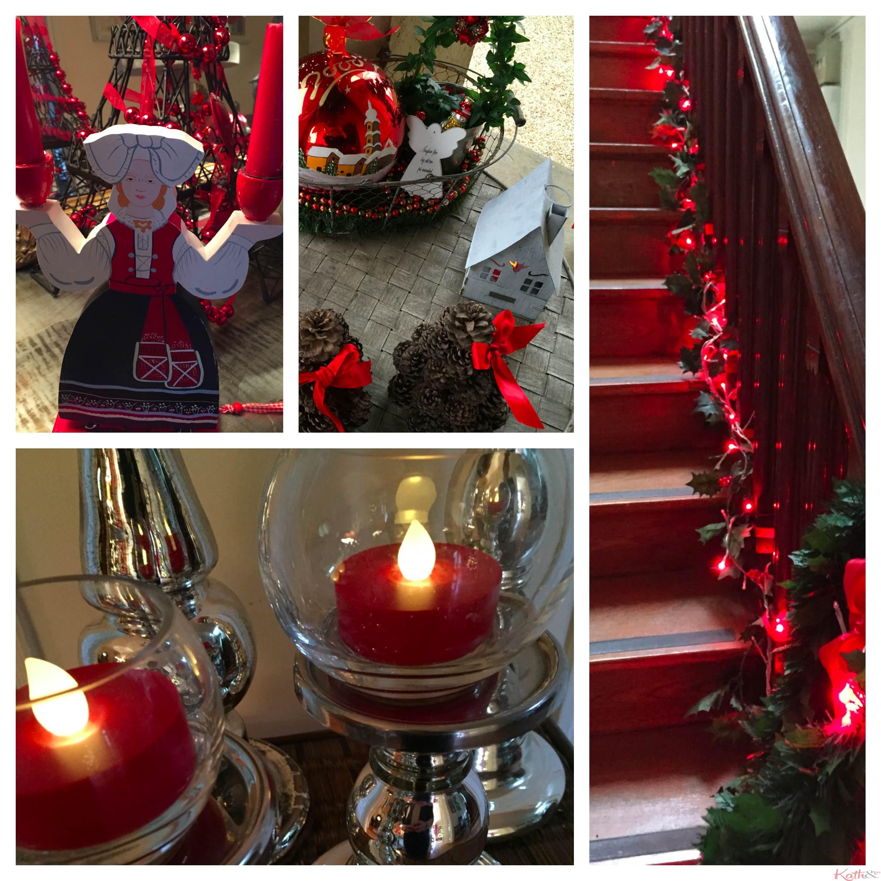 Merry christmas kath n ko - Decoration escalier noel ...