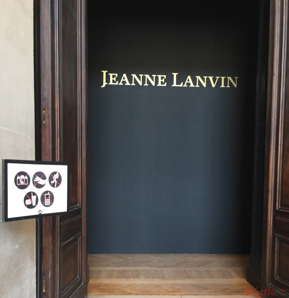 expo Jeanne Lanvin
