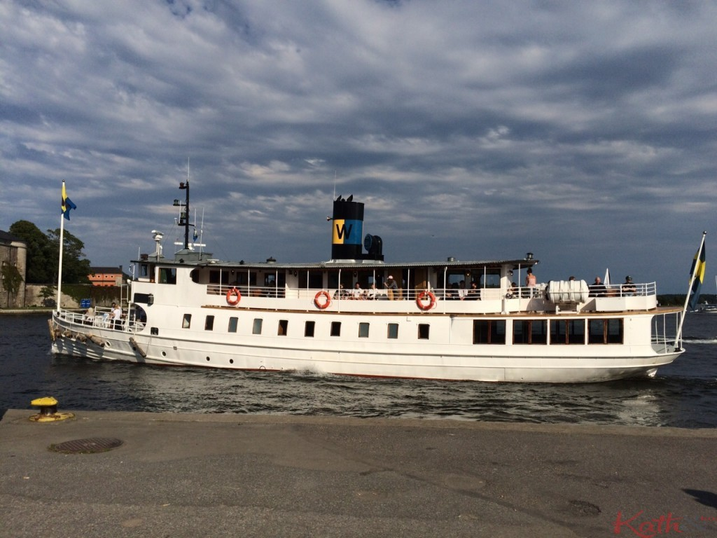 Vaxholm boat