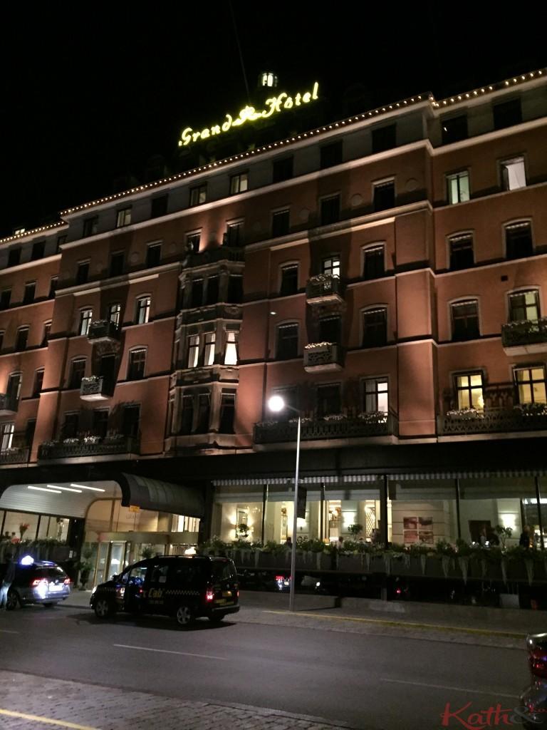 Grand Hotel la nuit