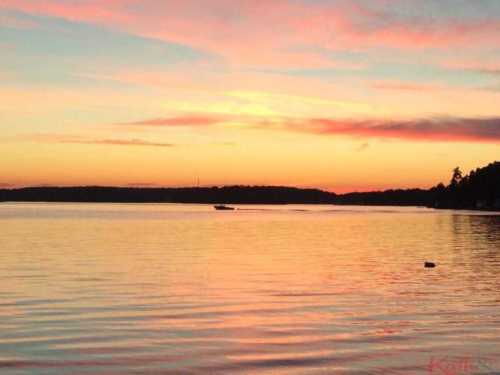coucher de soleil Skarpö