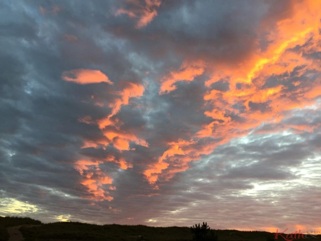 Coucher de soleil Vendée septembre 2015