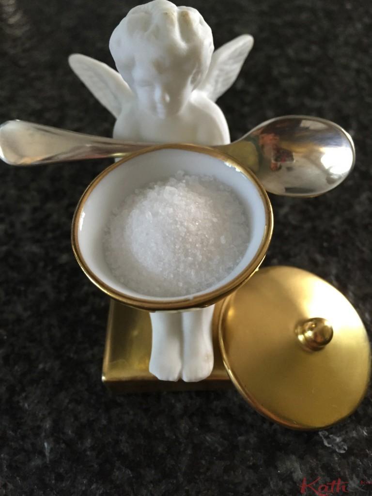 Salière porcelaine Bernardeau