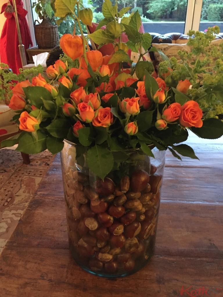 vase d'automne