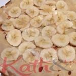 Crepe a la bananes