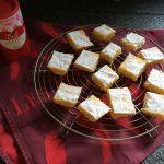 Lemon bars, carrés au citron