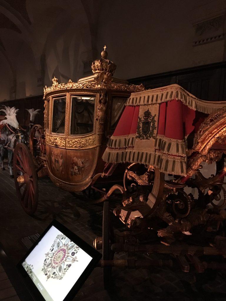 La berline du baptême du Duc de Bordeaux