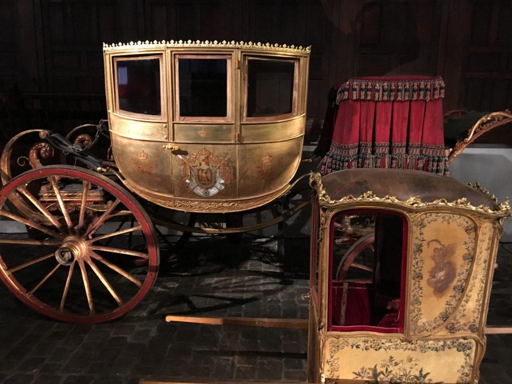 berline et chaise à porteur du mariage de Napoléon III