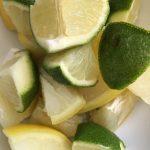 morceaux de citrons