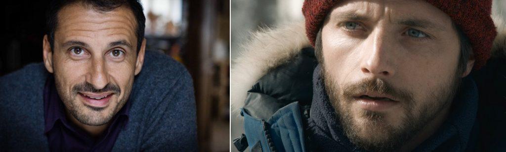 safy Nebbou et Raphaël Personnaz
