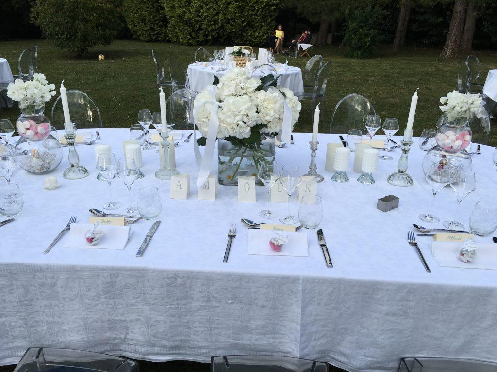 idée table des mariés