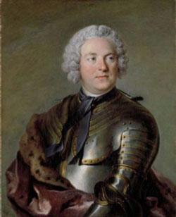Louis Tocqué. Portrait du Comte Carl Gustaf Tessin Natrionalmuseum, Stockholm © DR