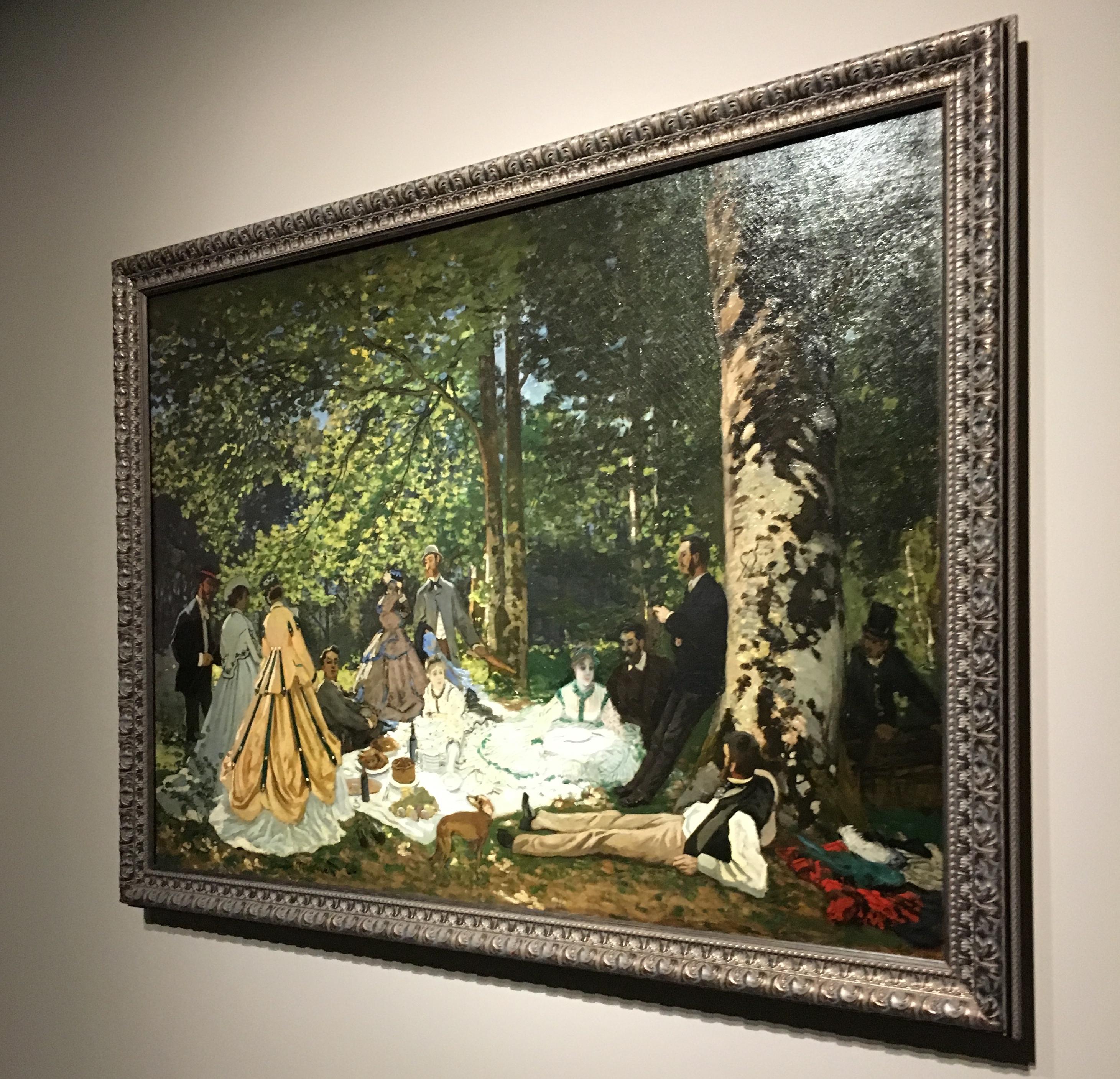 Claude Monet, Le déjeuner sur l'herbe