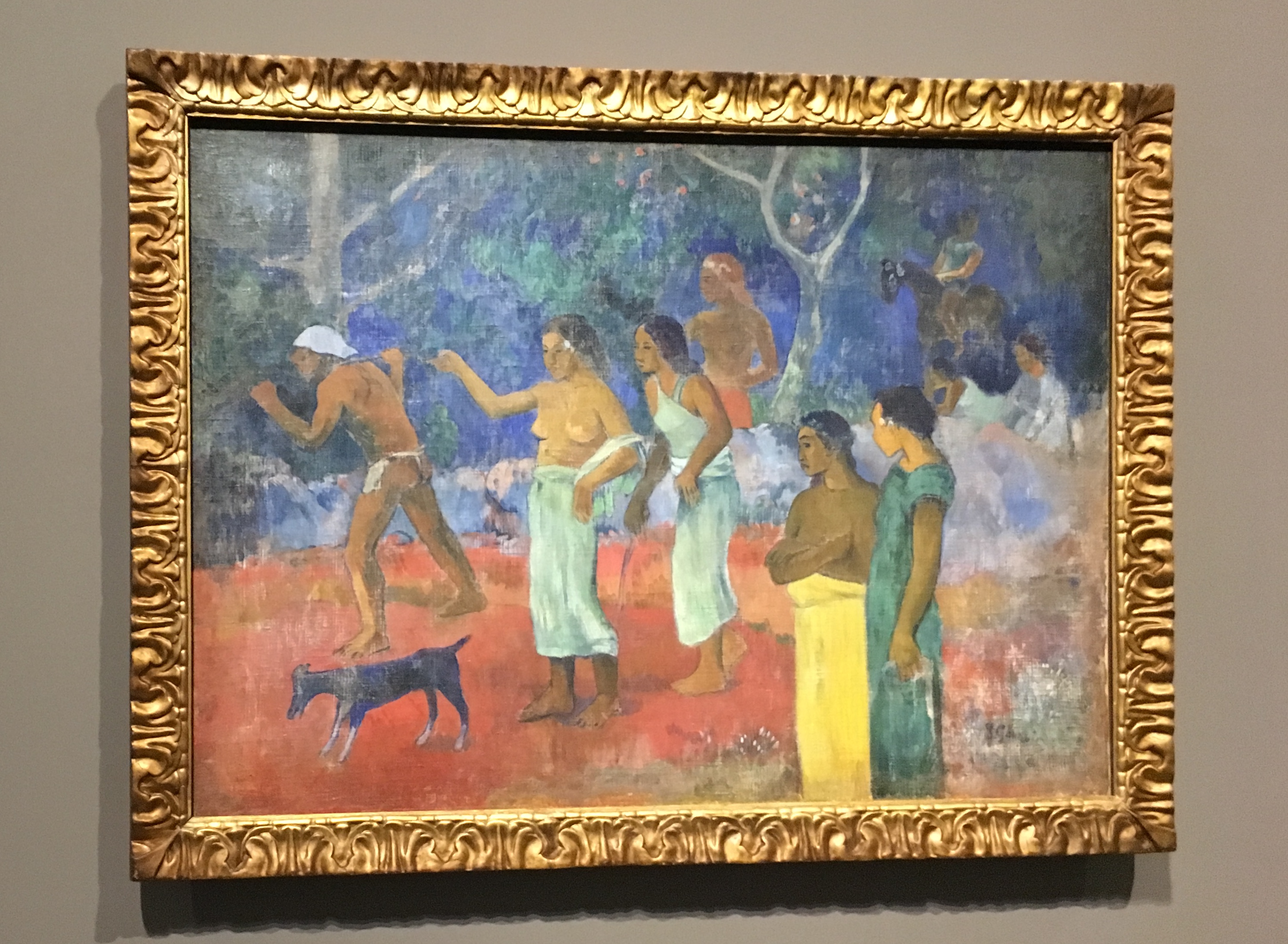 Paul Gauguin Scène de la vie tahitienne