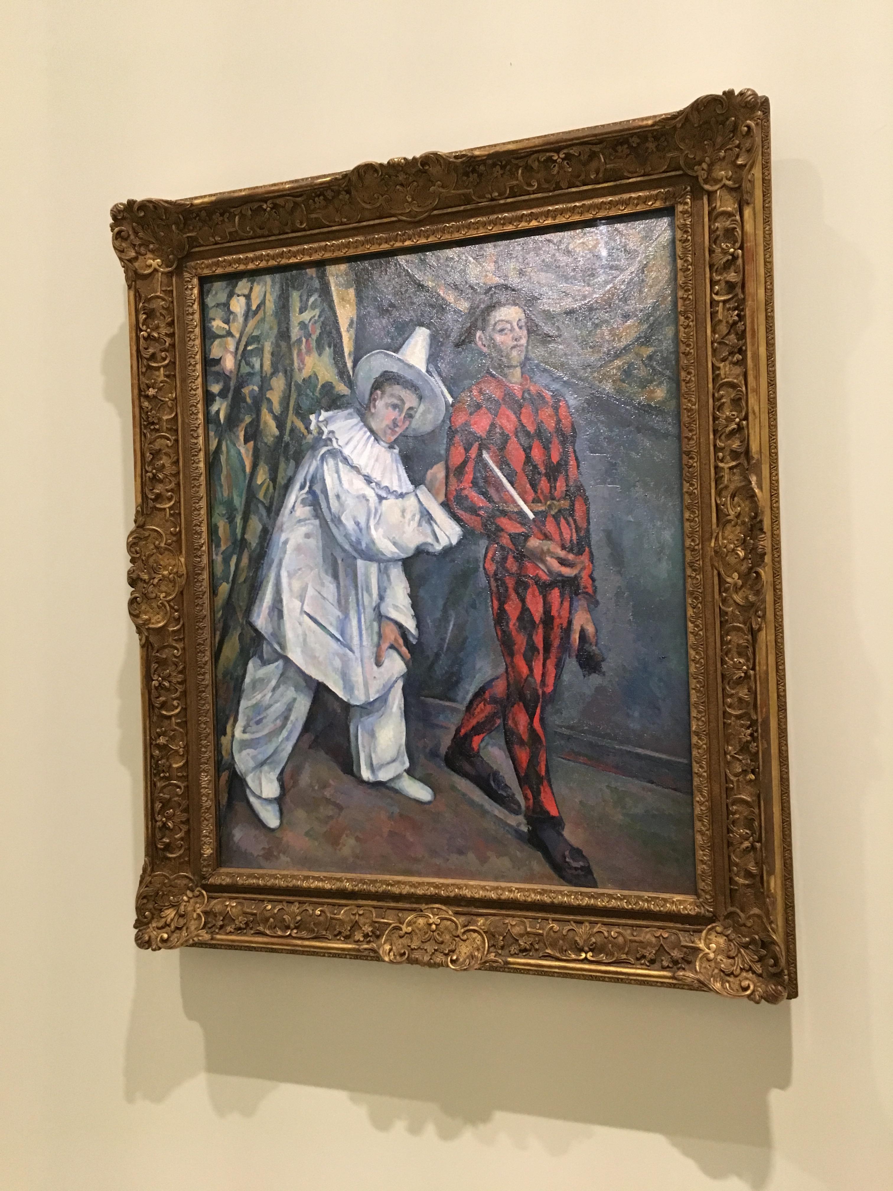 Paul Cézanne, Mardi-gras