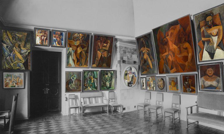 La salle Picasso au Palais Troubetskoï