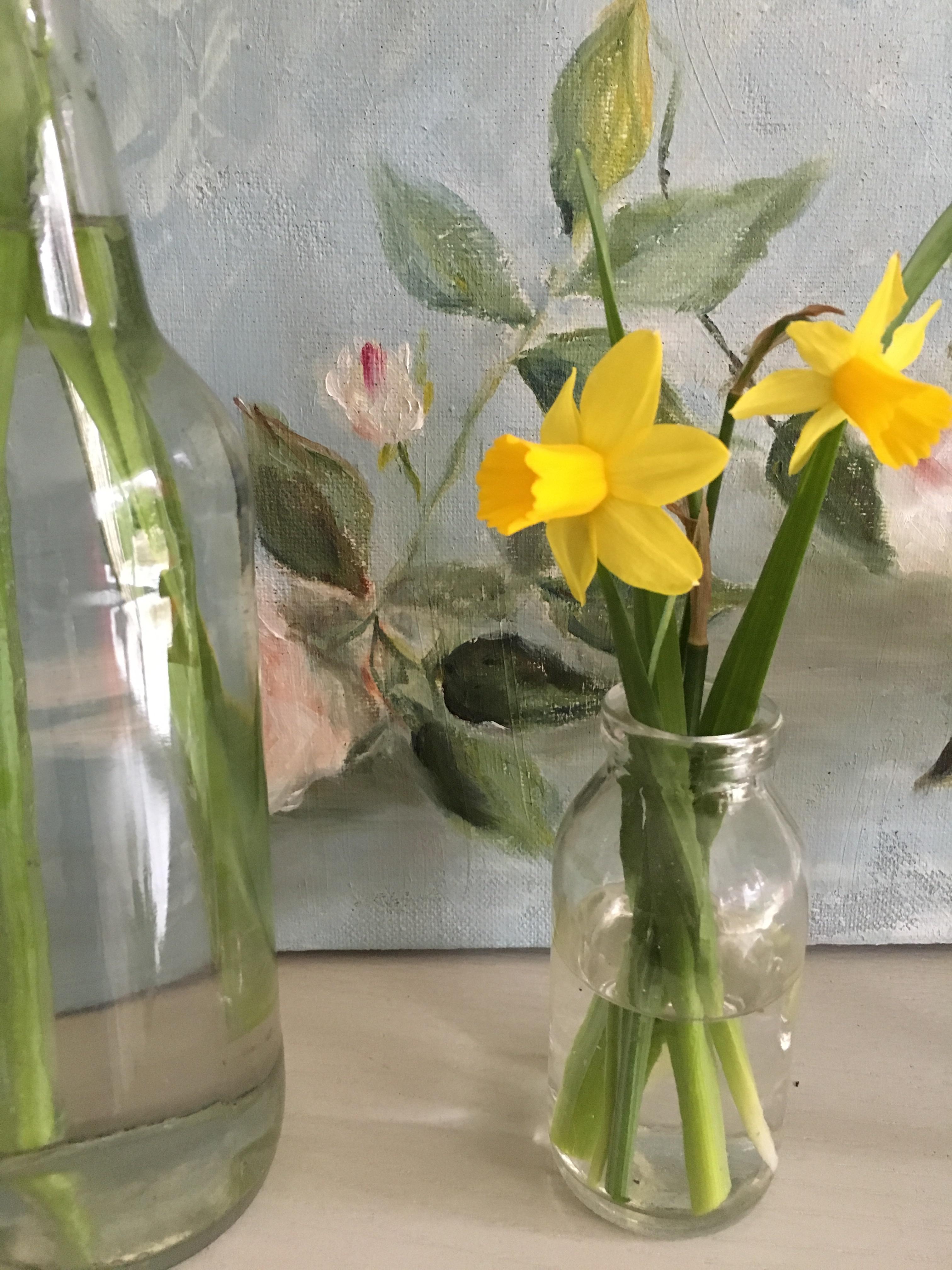 vases printemps