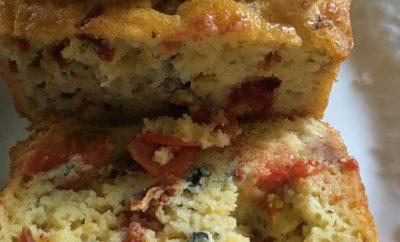 cake au roquefort tomates séchées tomates cerise