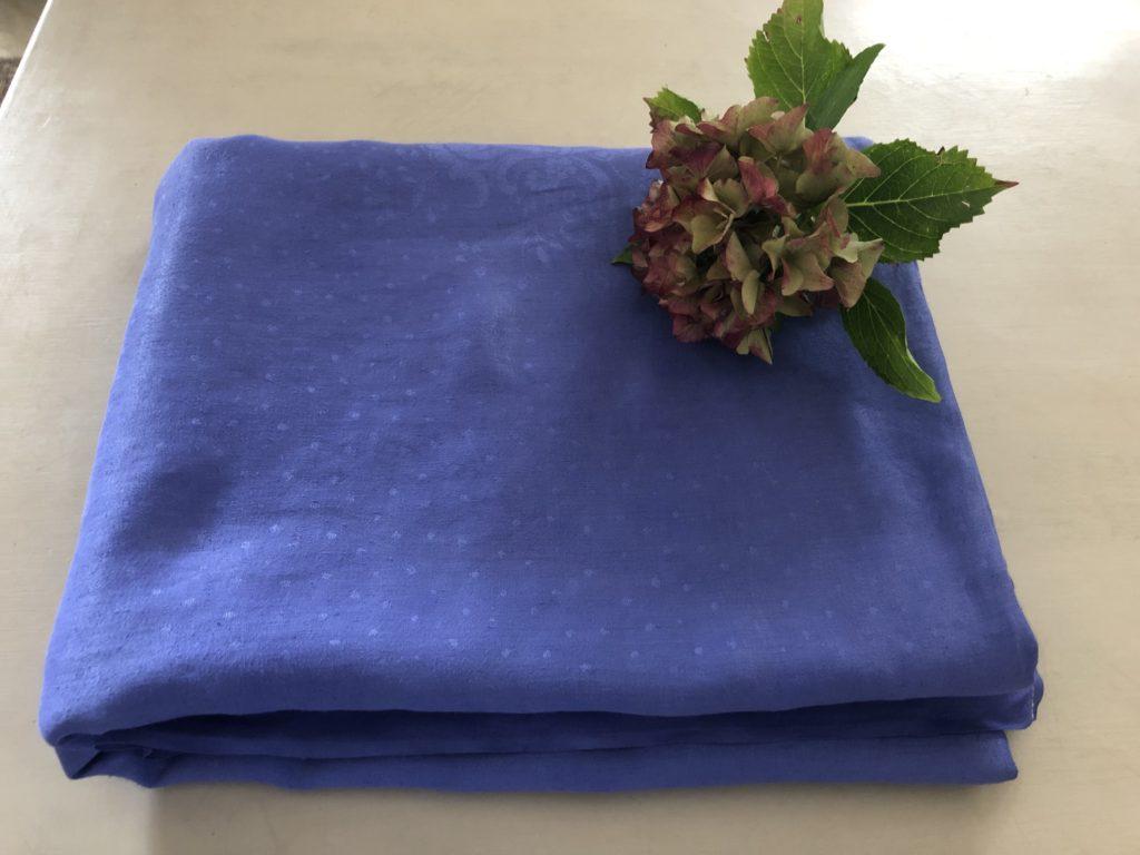 nappe bleu