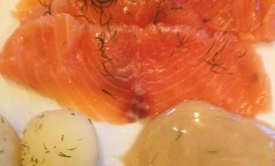 Saumon mariné suédois