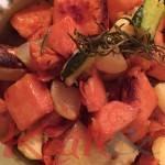légumes fondants au four